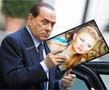 N-1167 Here is one more photo montage with politicians. Italian Prime Minister Silvio Berlusconi is getting out of the car and holding your picture in his hands. It is hard to say what he will do with it but it is quite clear that needs it.