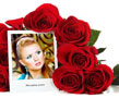 N-174 With this Photoshop effect you can create a collage with roses and your picture in the front. Your tender feelings and love can be expressed by it. Send it to your beloved and you will see what happens