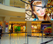 N-21 Experience something new! Express yourself! Find out in what unexpected places your picture can be. With this Photoshop effect it is possible to create a collage with your photo on the advertising canvas in the empty shopping mall.